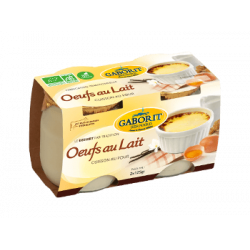 Oeufs au lait Tradition 2x125g - GABORIT